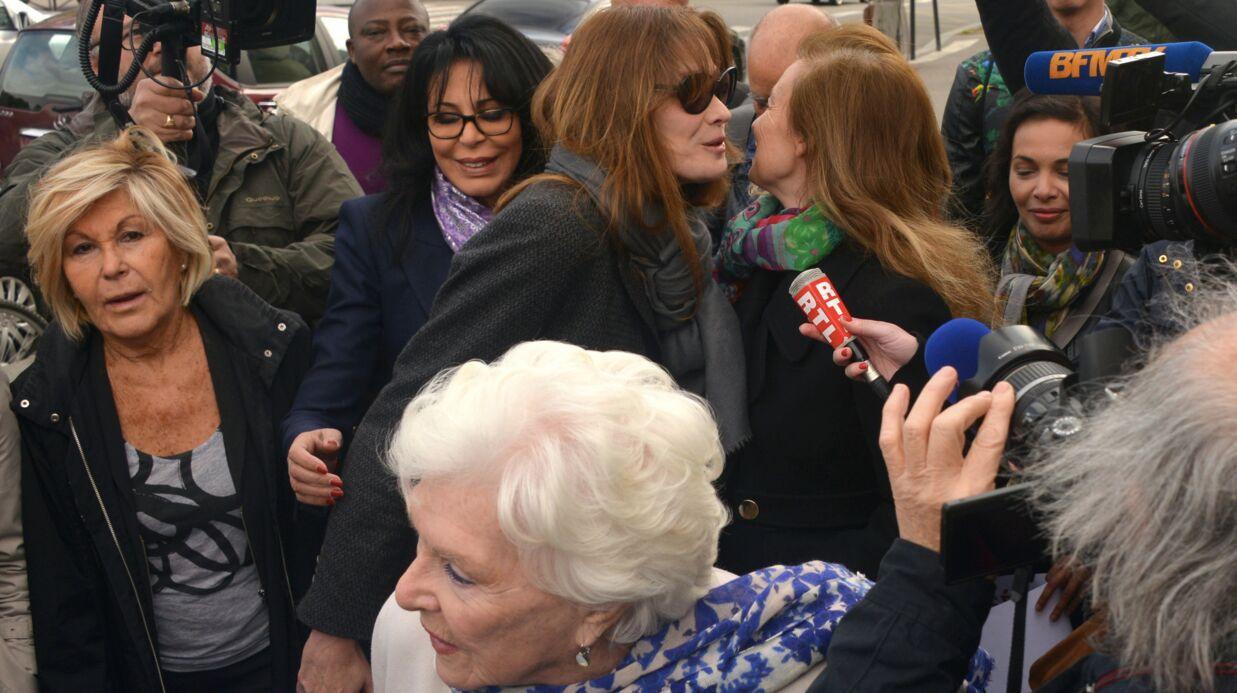 DIAPO Valérie Trierweiler, Carla Bruni et d'autres rassemblées pour les lycéennes enlevées