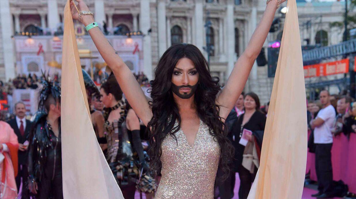Michou: en guerre contre la barbe de Conchita Wurst!