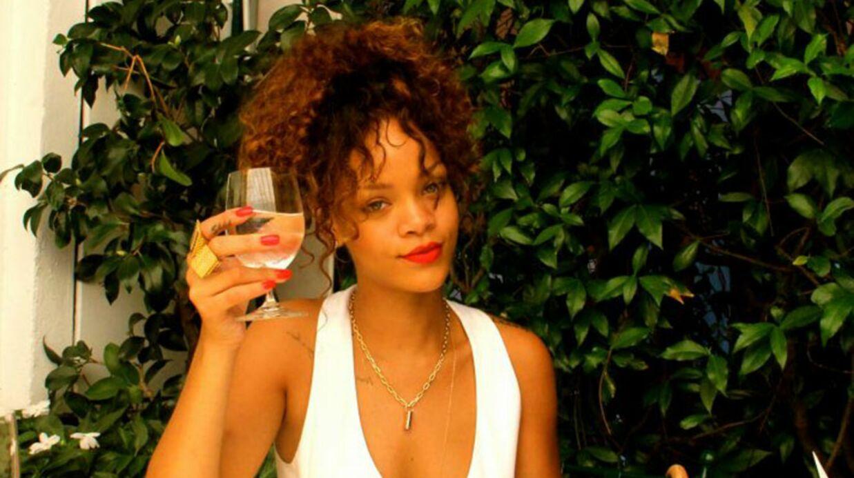 Rihanna serait-elle alcoolique?
