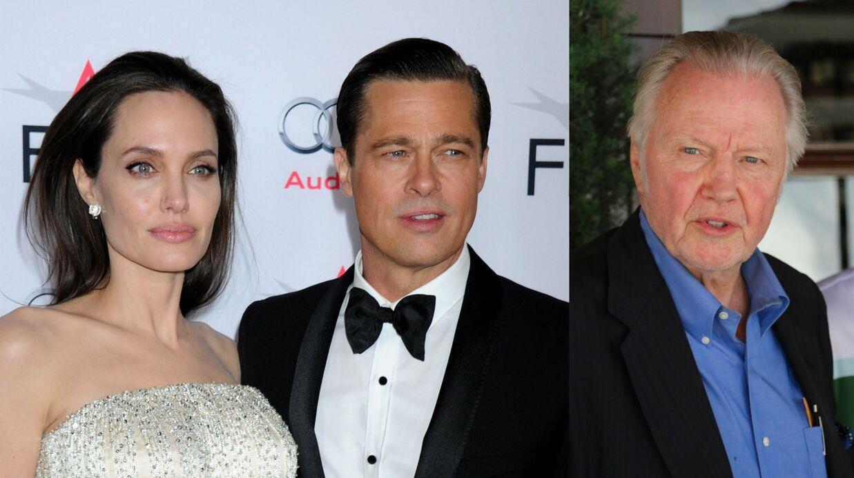 Angelina Jolie: son père espère qu'elle se remettra avec Brad Pitt