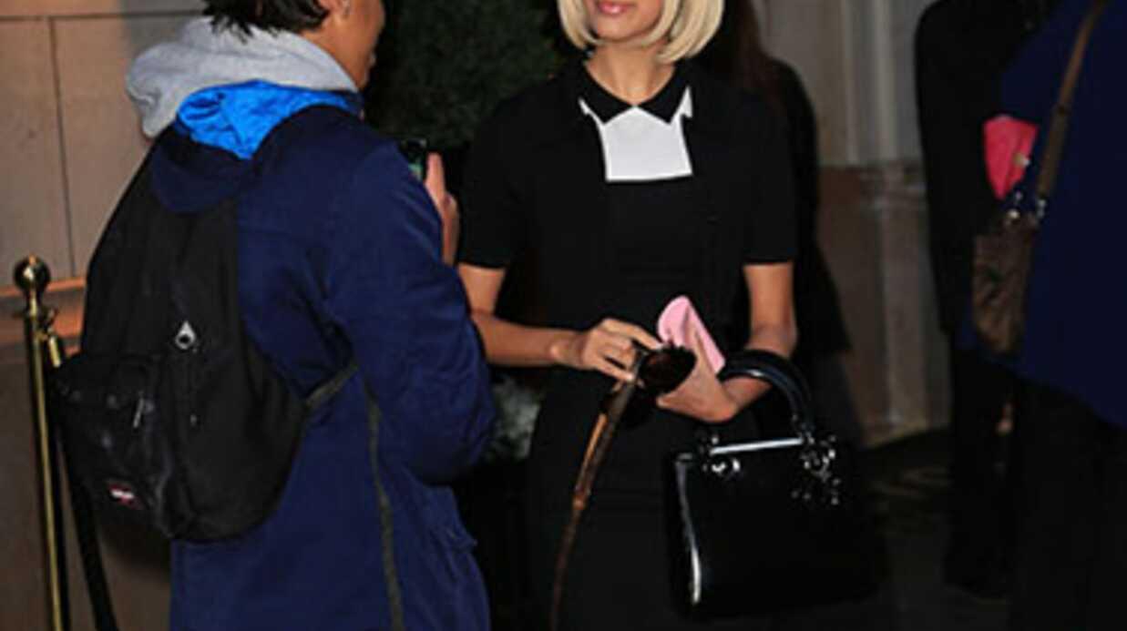 PHOTOS Zahia s'offre une coupe au carré à la Mireille Darc