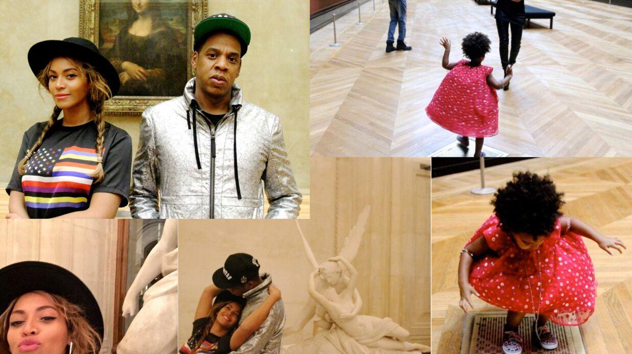 PHOTOS Beyoncé et Jay-Z au Louvre: ils reproduisent les œuvres d'art