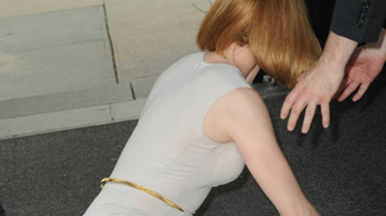 PHOTOS Nicole Kidman fauchée par un cycliste