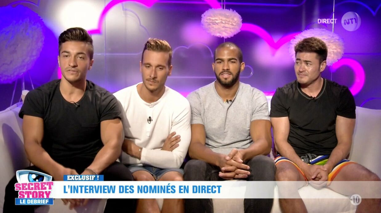 Secret Story 10: qui sont les quatre garçons nominés cette semaine?