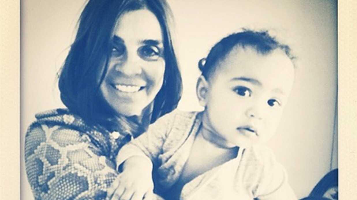 Kim Kardashian: à 13 mois, sa fille North fait ses débuts de mannequin