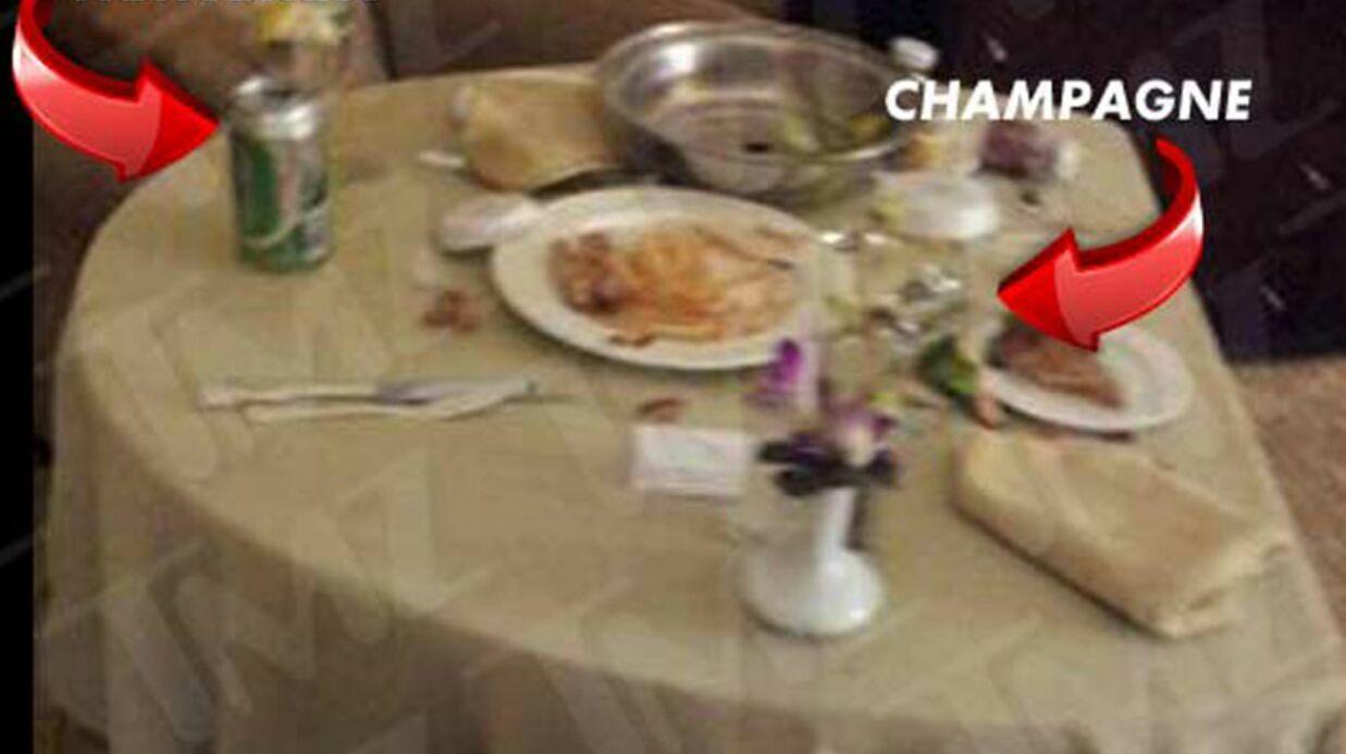 PHOTOS: le dernier repas de Whitney Houston