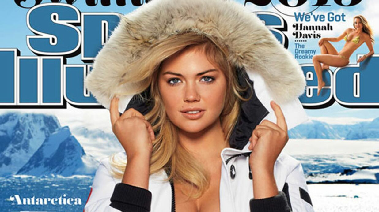PHOTOS Kate Upton a failli geler pour une séance photos ultra hot