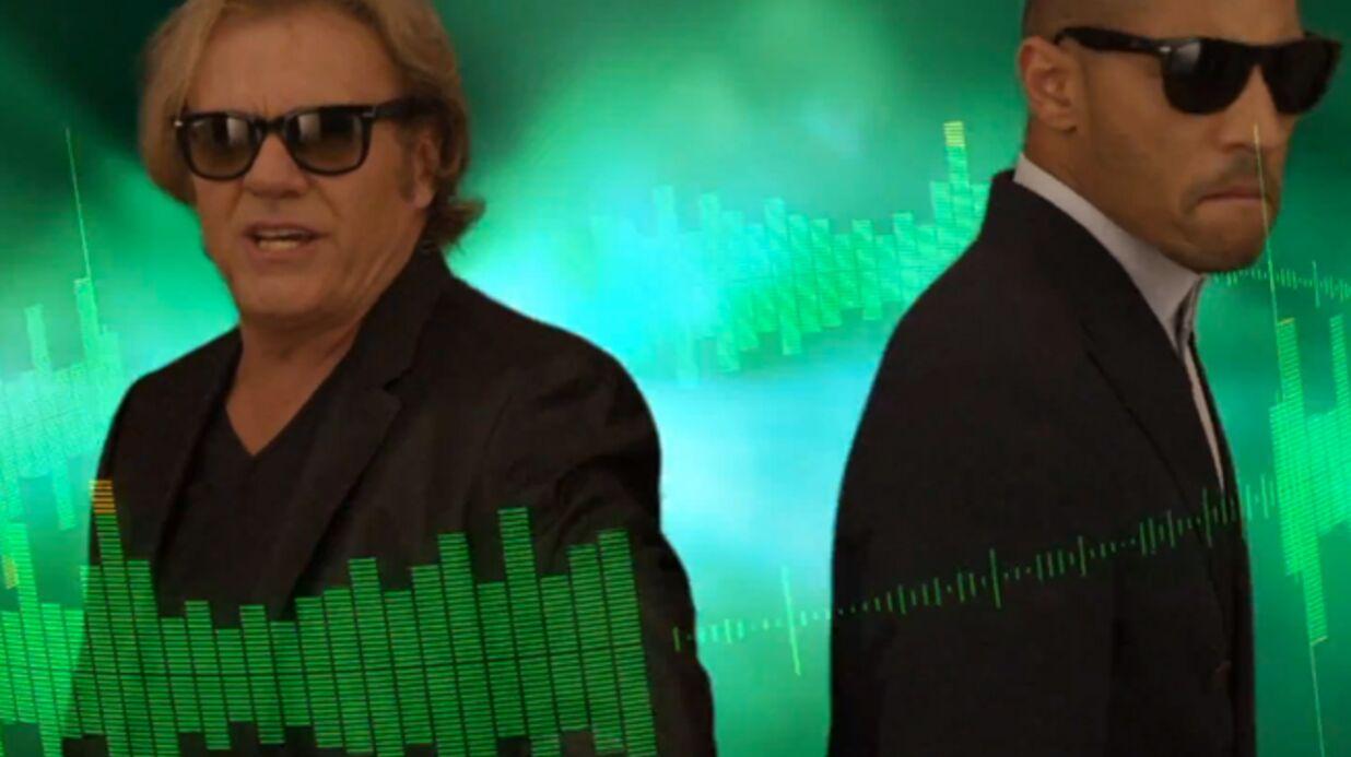 VIDEO François Valéry fait son incroyable come-back… en techno