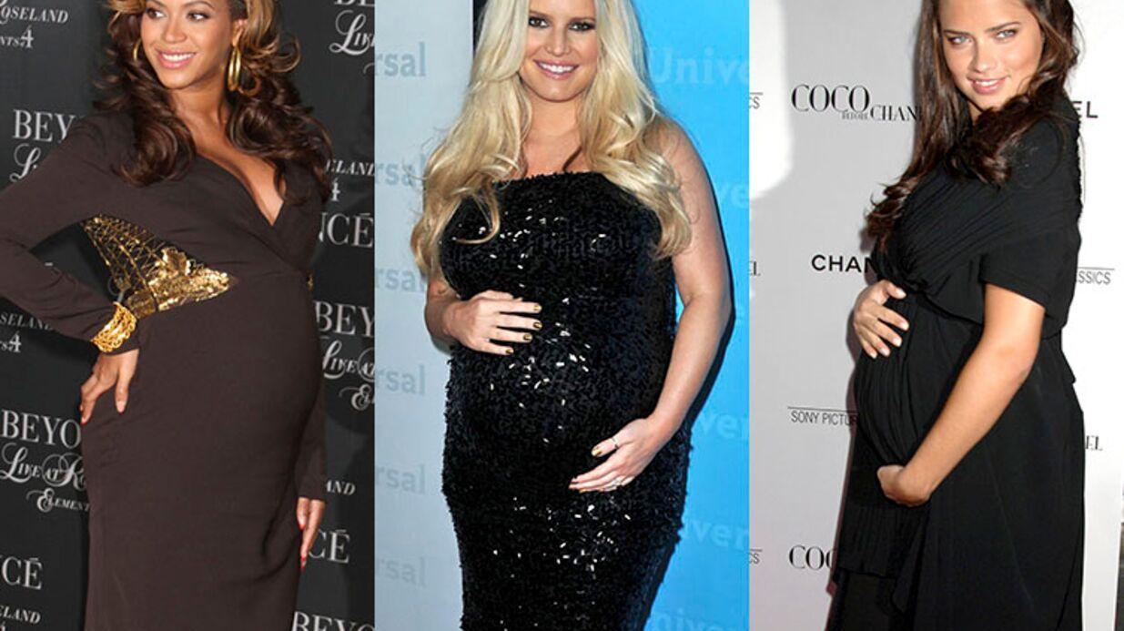 PHOTOS Découvrez combien de kilos de grossesse ont pris les stars