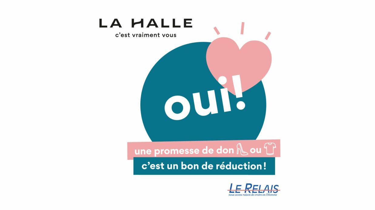 La Halle et Le Relais renouvellent leur collecte solidaire