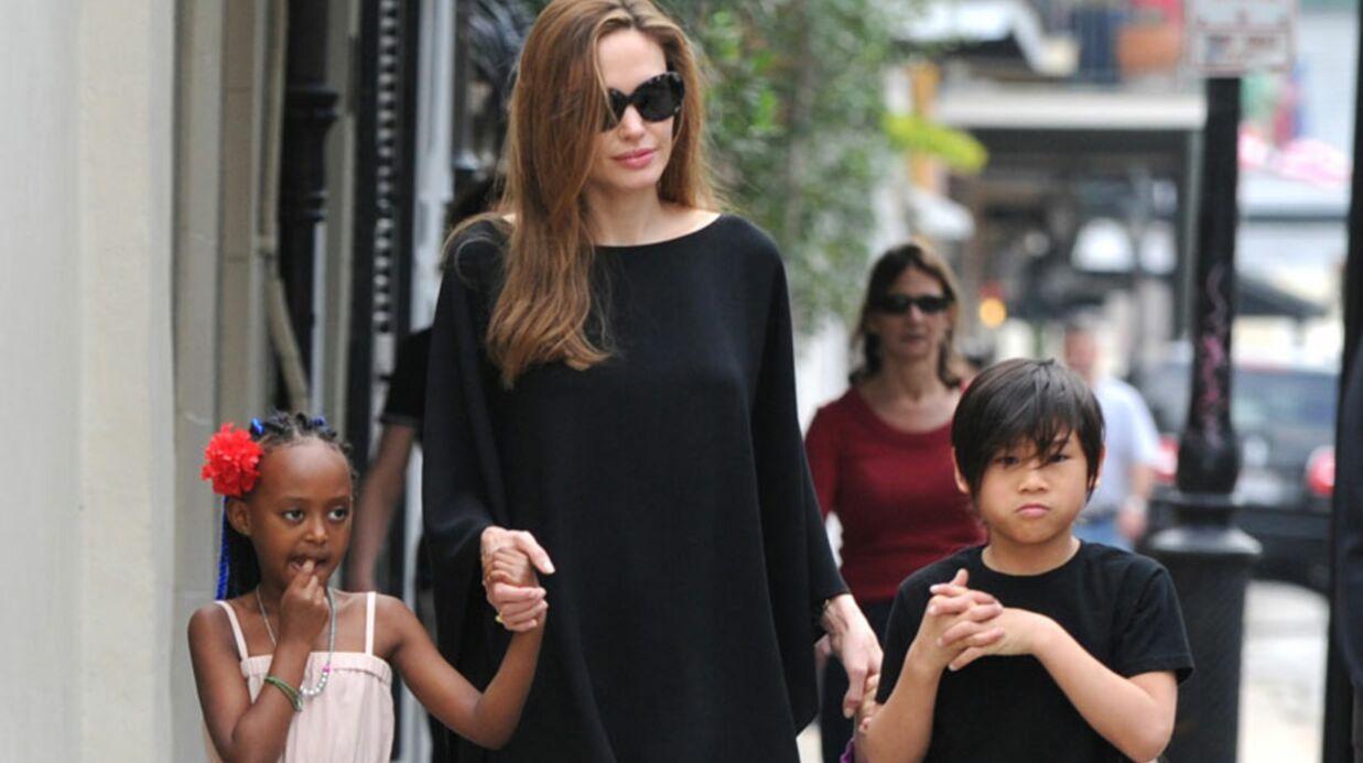 Angelina Jolie ne veut pas que ses enfants écoutent Rihanna