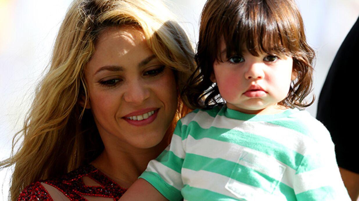DIAPO Shakira et son bébé illuminent la cérémonie de clôture du Mondial