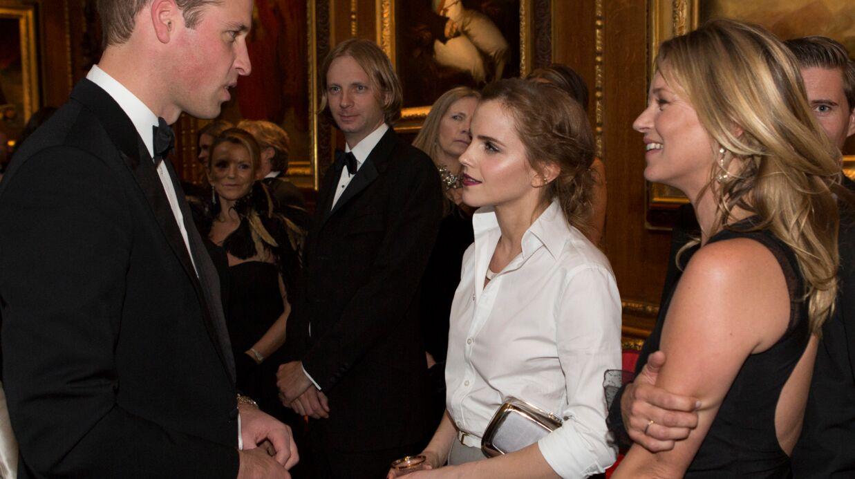 PHOTOS Kate Moss et Emma Watson sous le charme du prince William