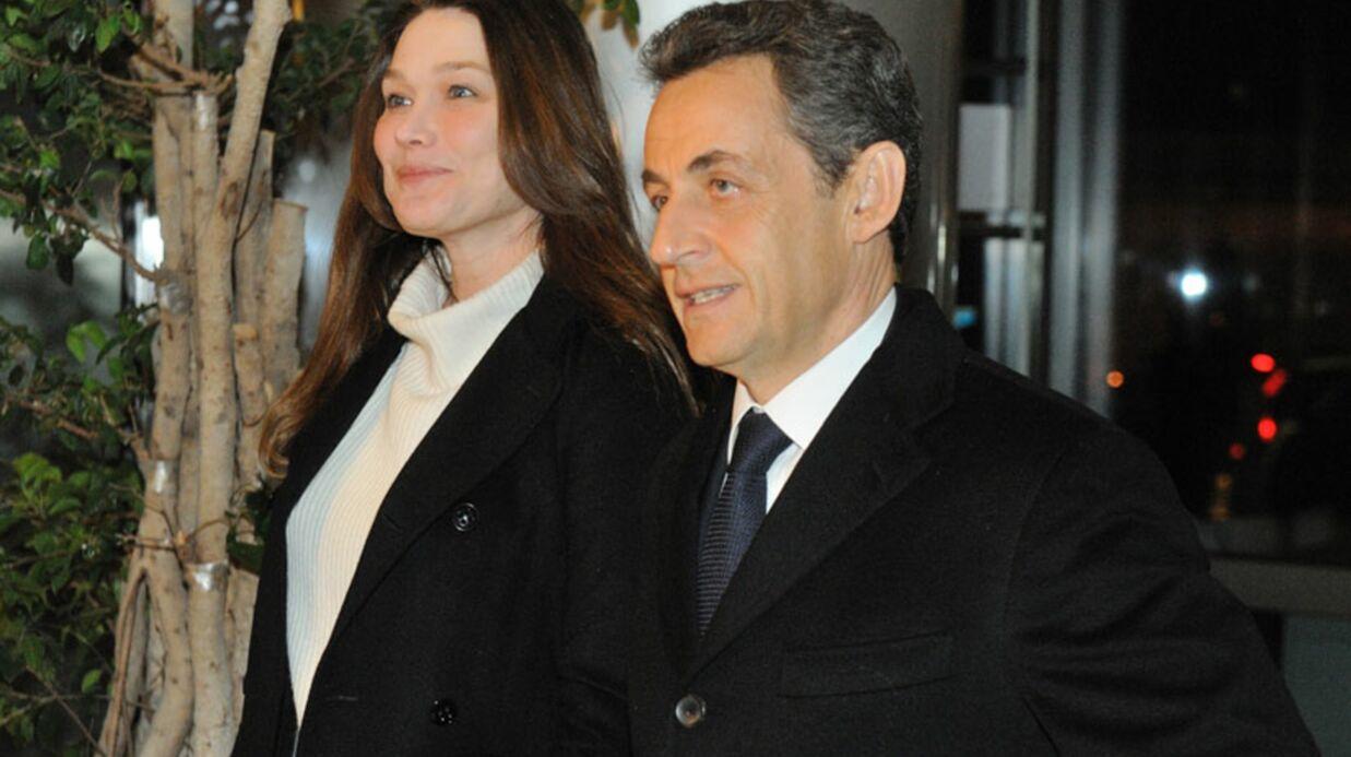 Nicolas Sarkozy et Carla Bruni fans de The Voice