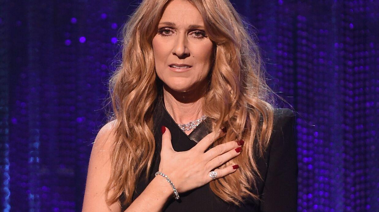 PHOTO Céline Dion remercie ses fans de lui donner la force de monter sur scène chaque soir