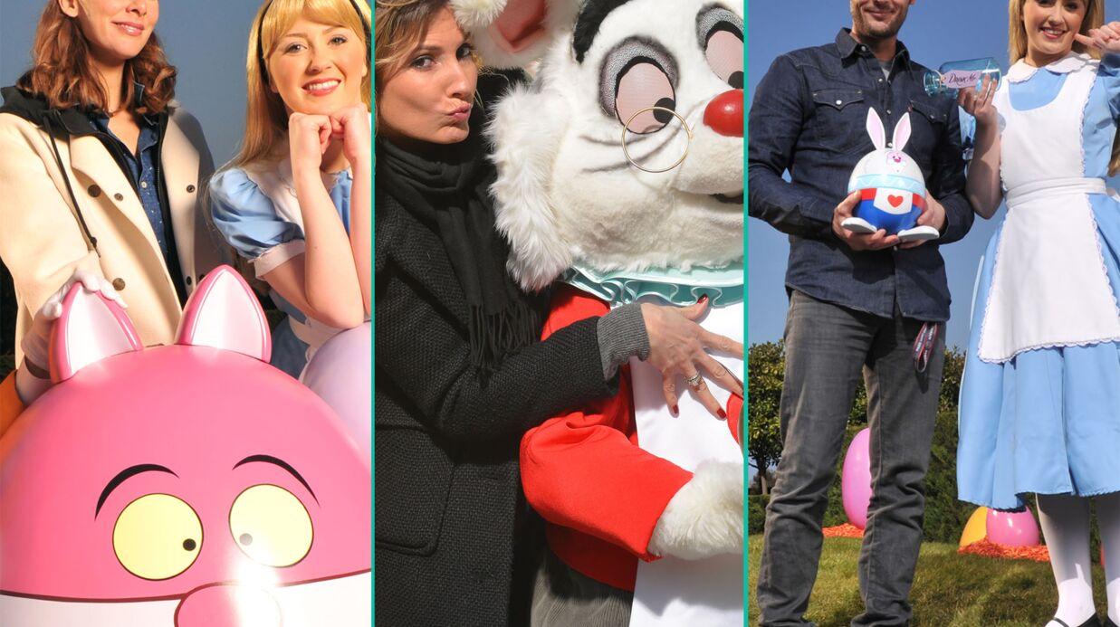 PHOTOS Mélissa Theuriau, Caroline Ithurbide et Nicolas Duvauchelle fêtent le retour du printemps à Disneyland