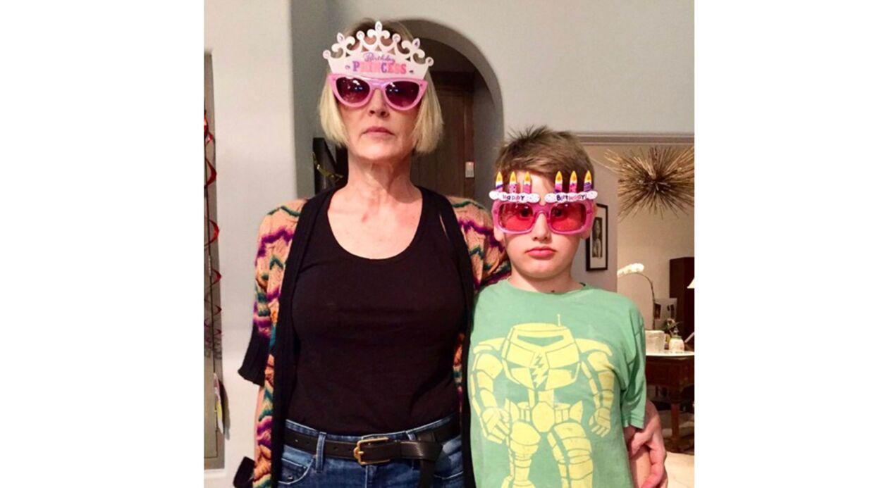 Sharon Stone fête ses 59 ans en postant une rare photo avec ses trois fils