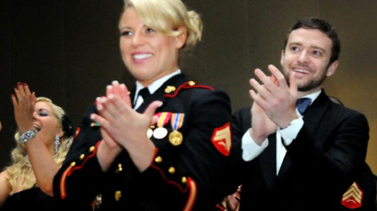 Justin Timberlake s'est rendu au bal annuel des Marines