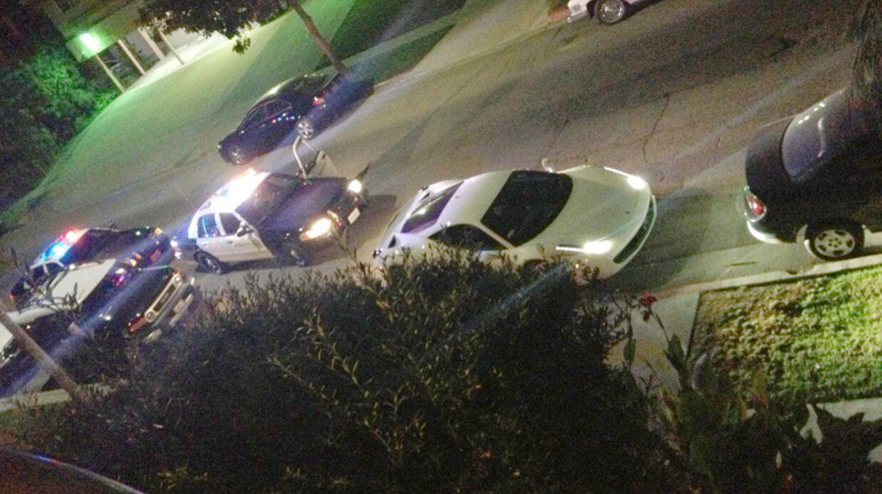 PHOTOS Justin Bieber arrêté par la police à bord de sa Ferrari
