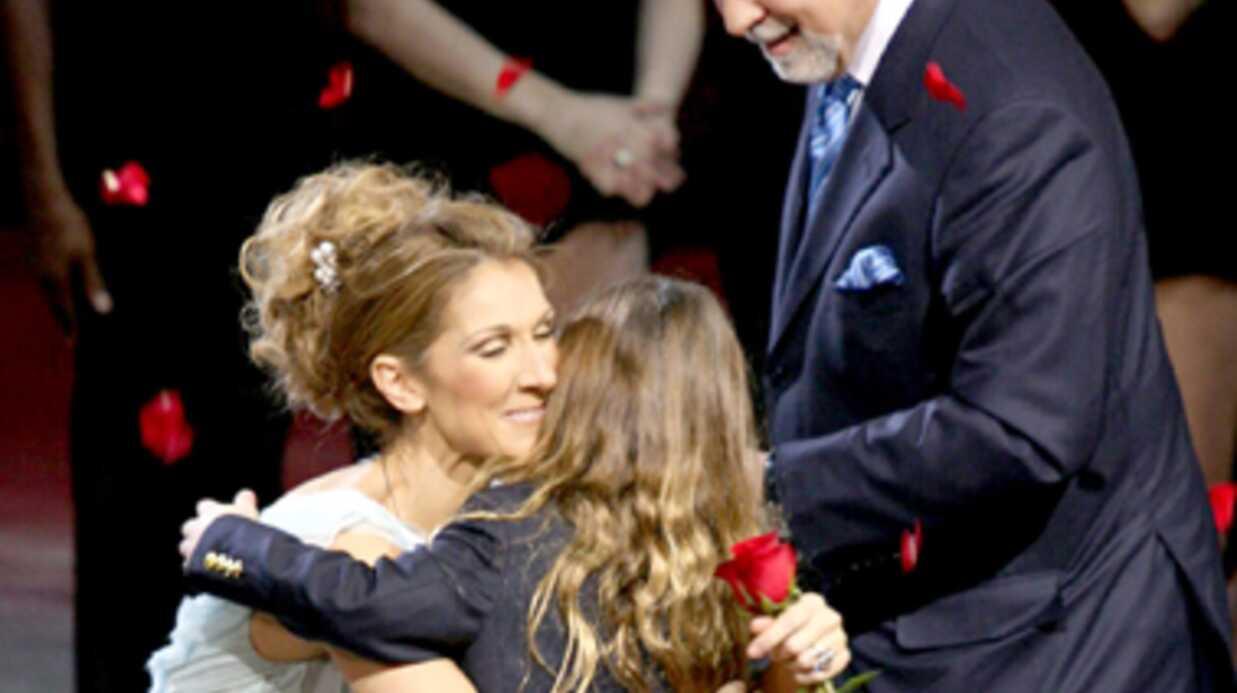 Céline Dion explique pourquoi son fils portait les cheveux longs