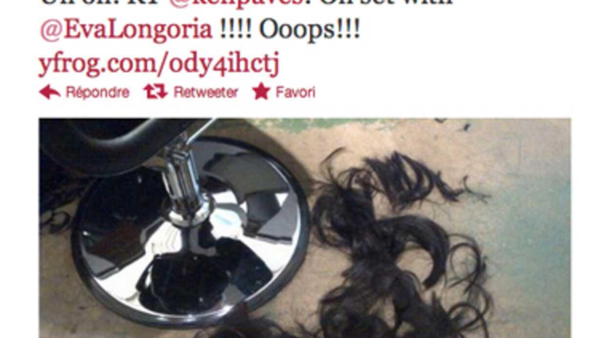 PHOTO La nouvelle coiffure d'Eva Longoria