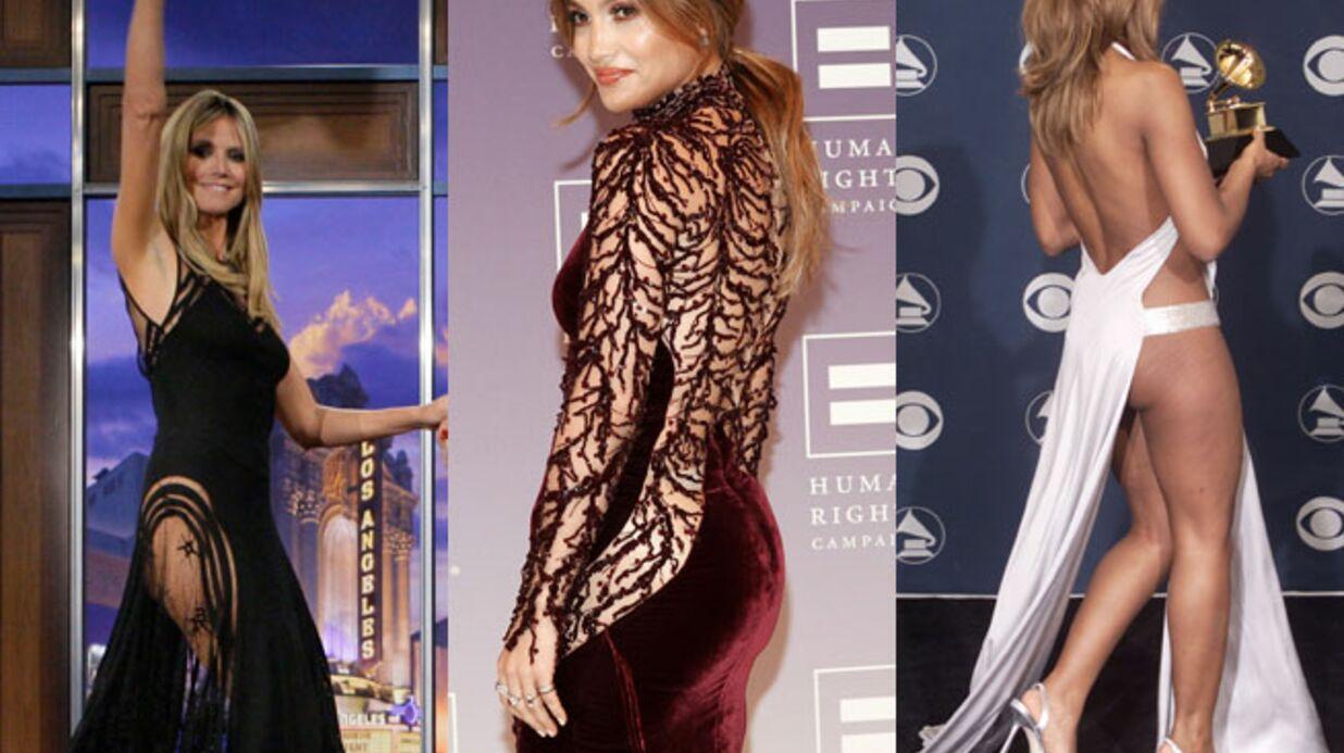 DIAPO Heidi Klum, Rihanna, Jennifer Lopez… toutes sans culotte