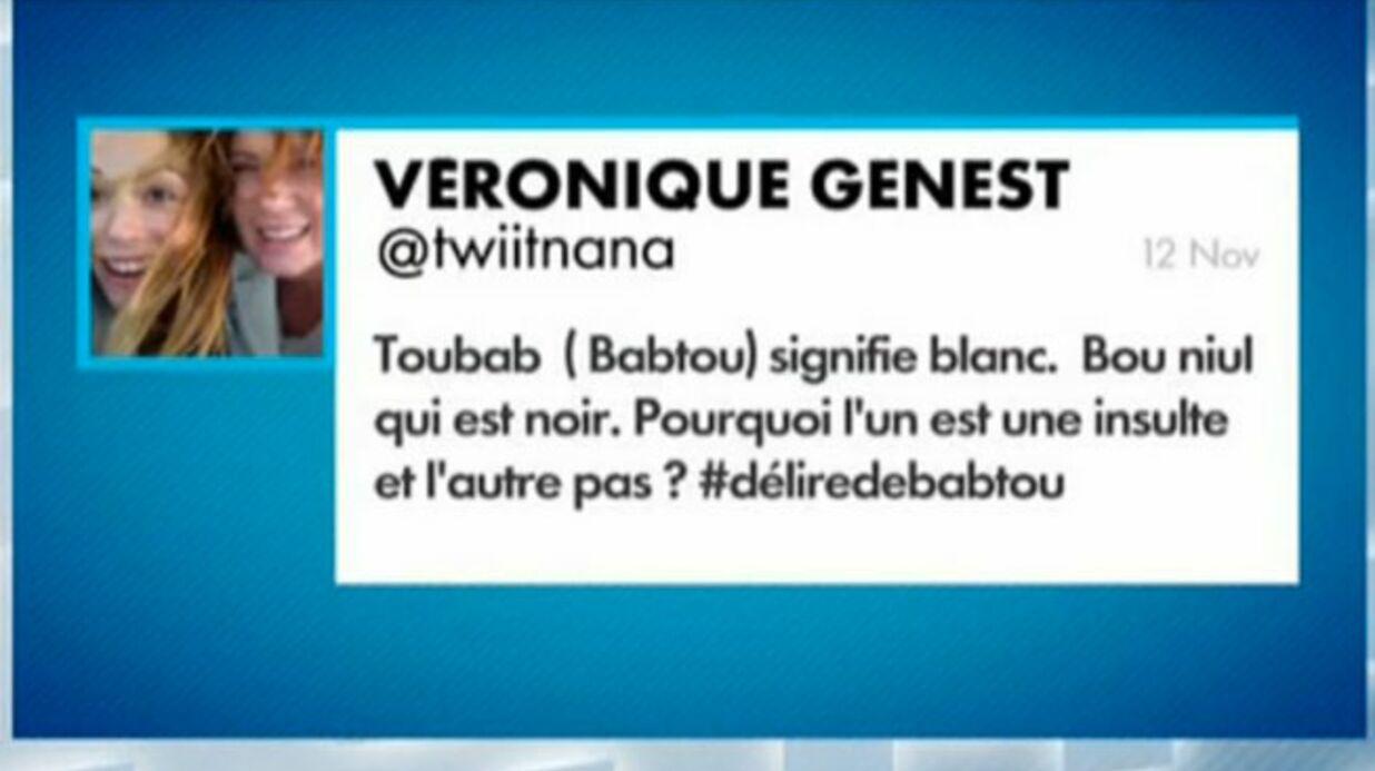 Accusée de racisme sur Twitter, Véronique Genest répond dans le Grand Journal