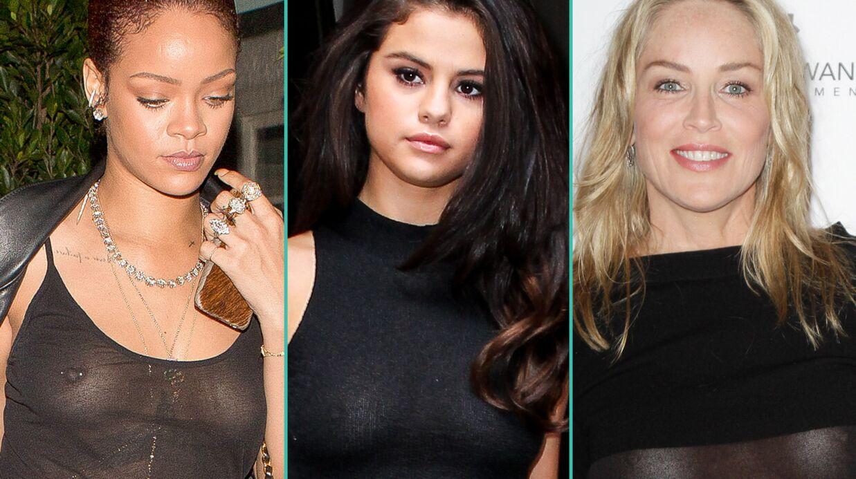 PHOTOS Surprises par les flashs, ces célébrités en montrent beaucoup trop!