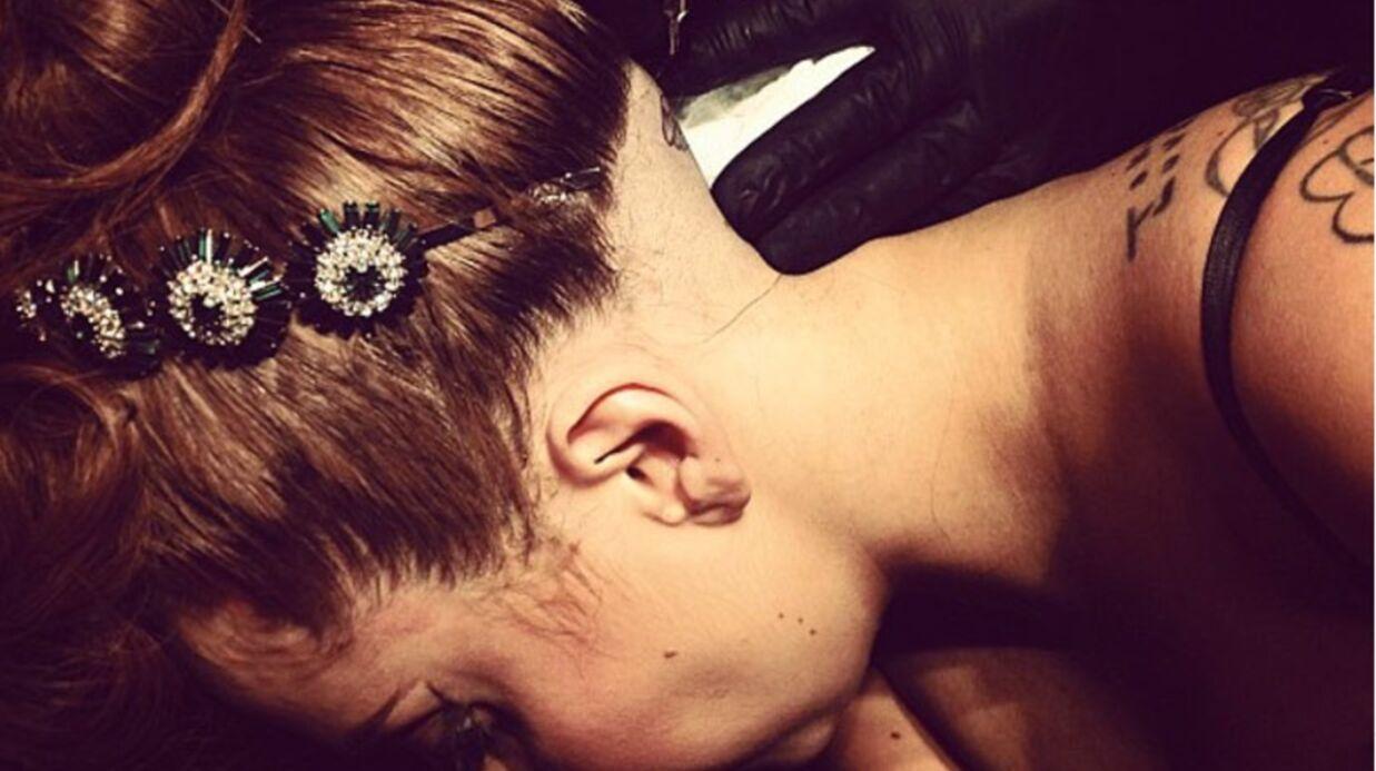PHOTO Lady Gaga encore un nouveau tatouage