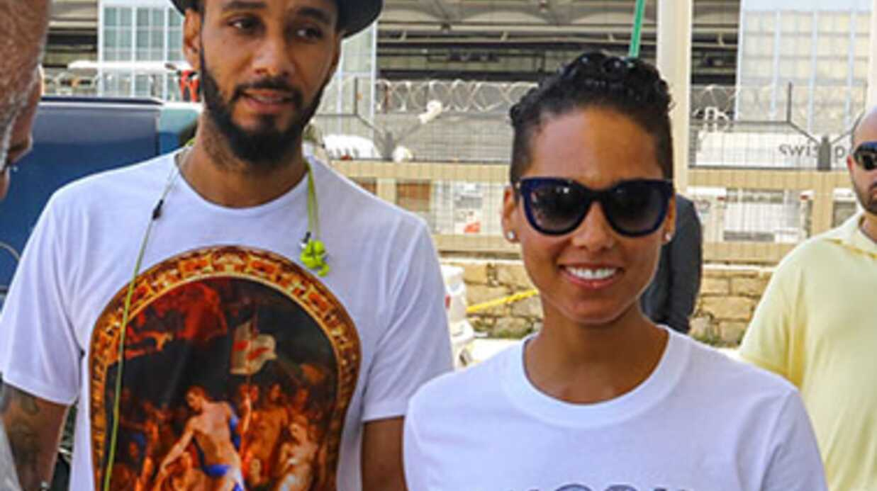 PHOTO Alicia Keys sexy pour l'an­ni­ver­saire de son mari