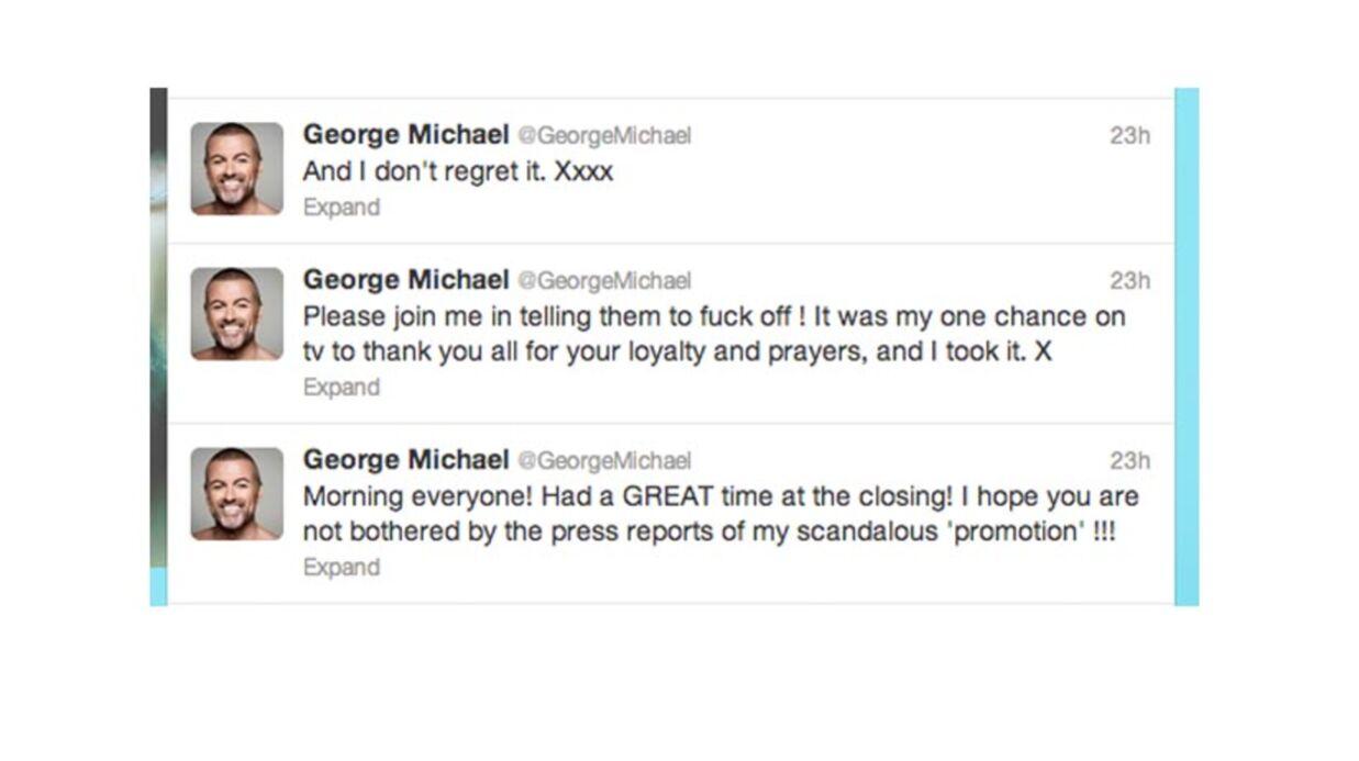 George Michael répond violemment aux critiques après son concert des Jeux Olympiques