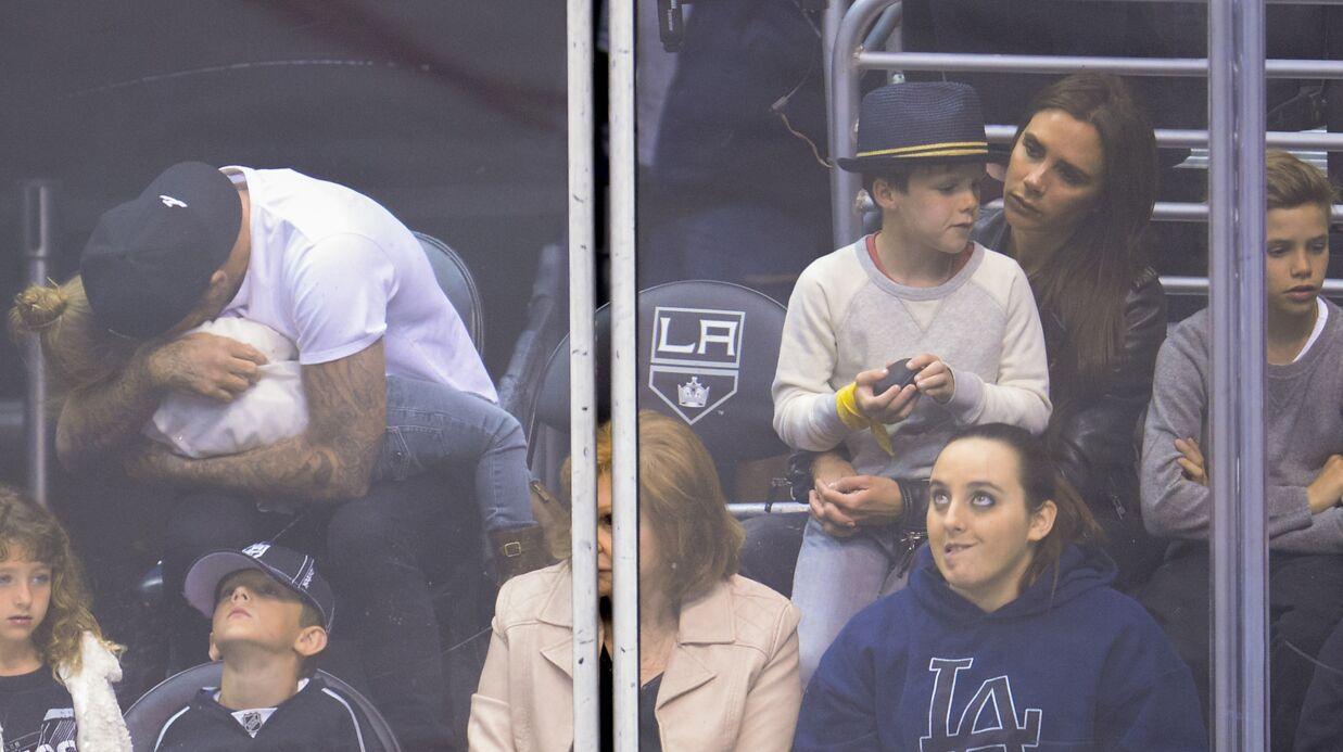 PHOTOS David et Victoria Beckham: un instant câlin craquant avec leurs enfants