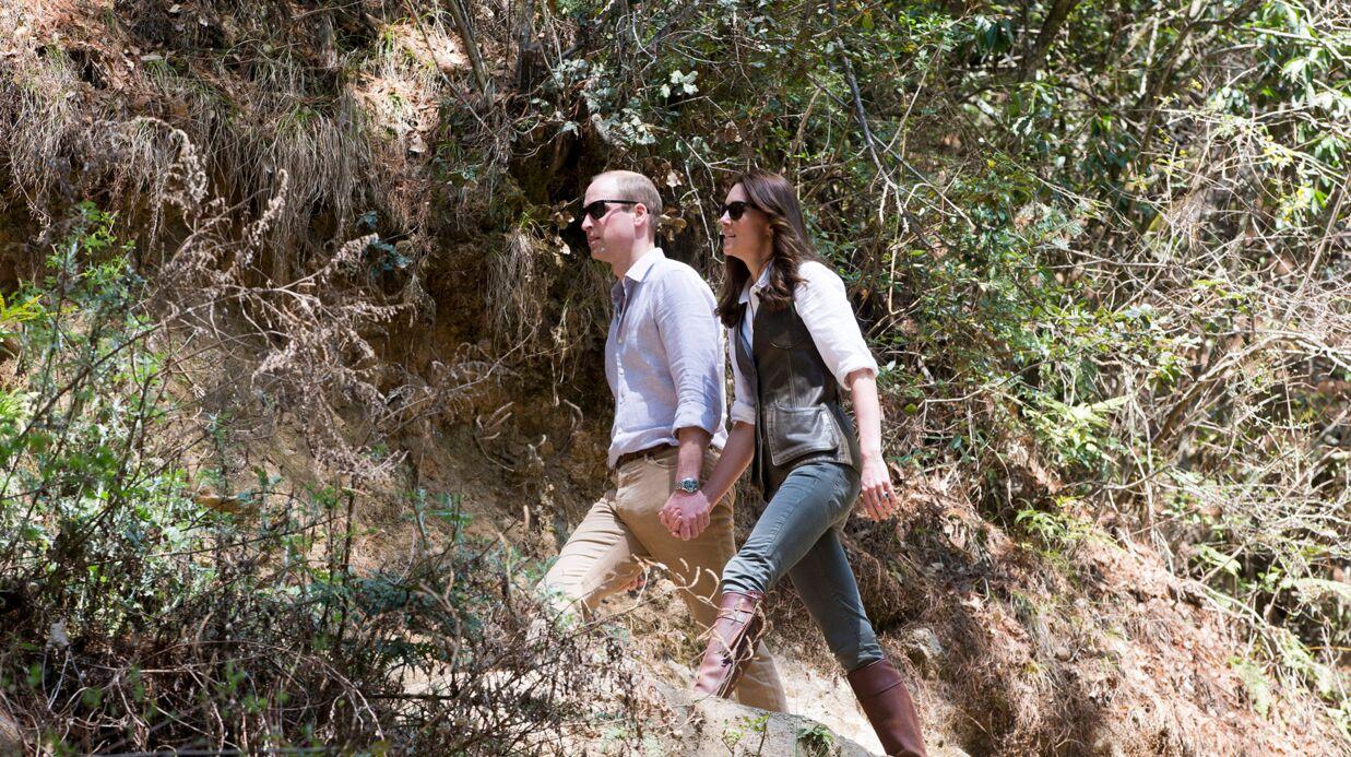 PHOTOS Kate Middleton et le Prince William s'échappent pour une randonnée en amoureux