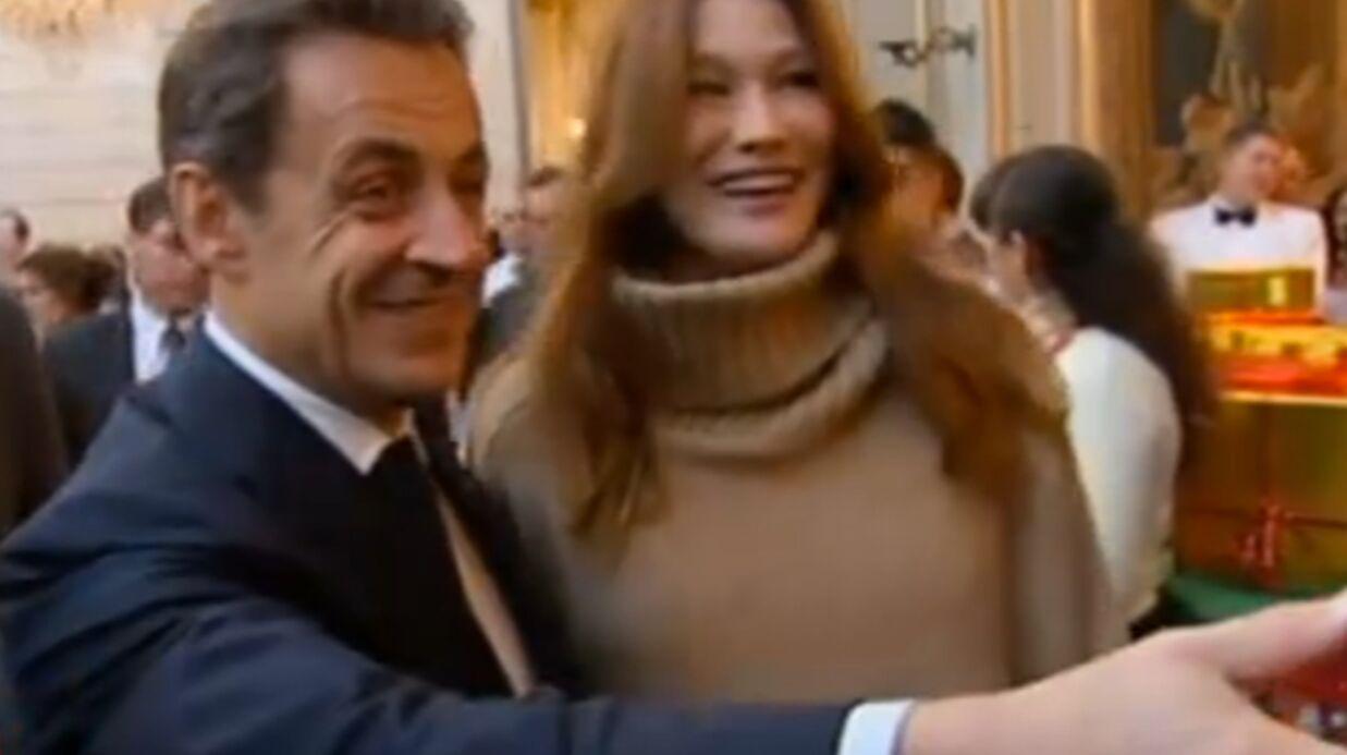 VIDEO Nicolas Sarkozy et Carla Bruni fêtent Noël à l'Élysée