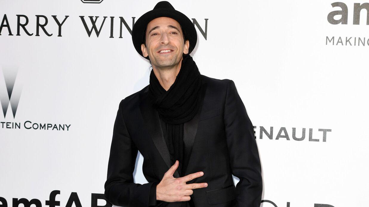 PHOTOS Adrien Brody a un tout nouveau look très surprenant
