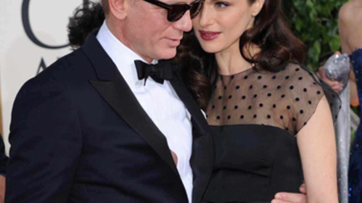 PHOTOS Daniel Craig et Rachel Weisz s'embrassent