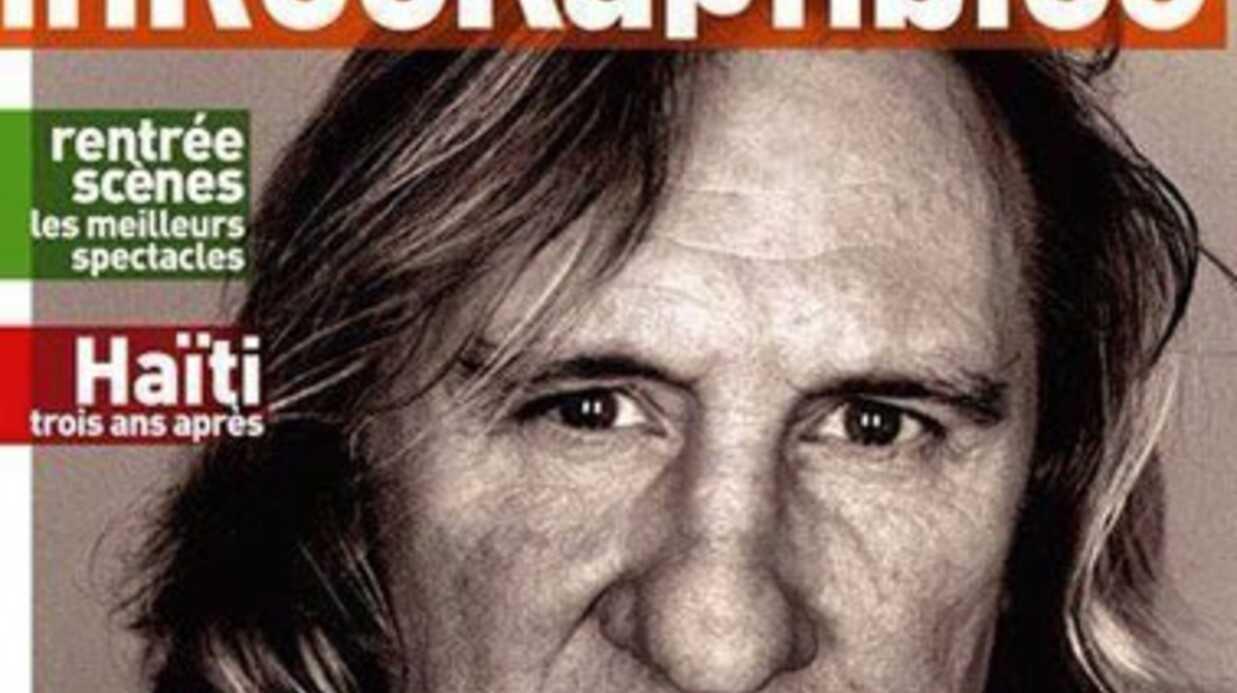 Gérard Depardieu achevé par Audrey Pulvar dans les Inrocks