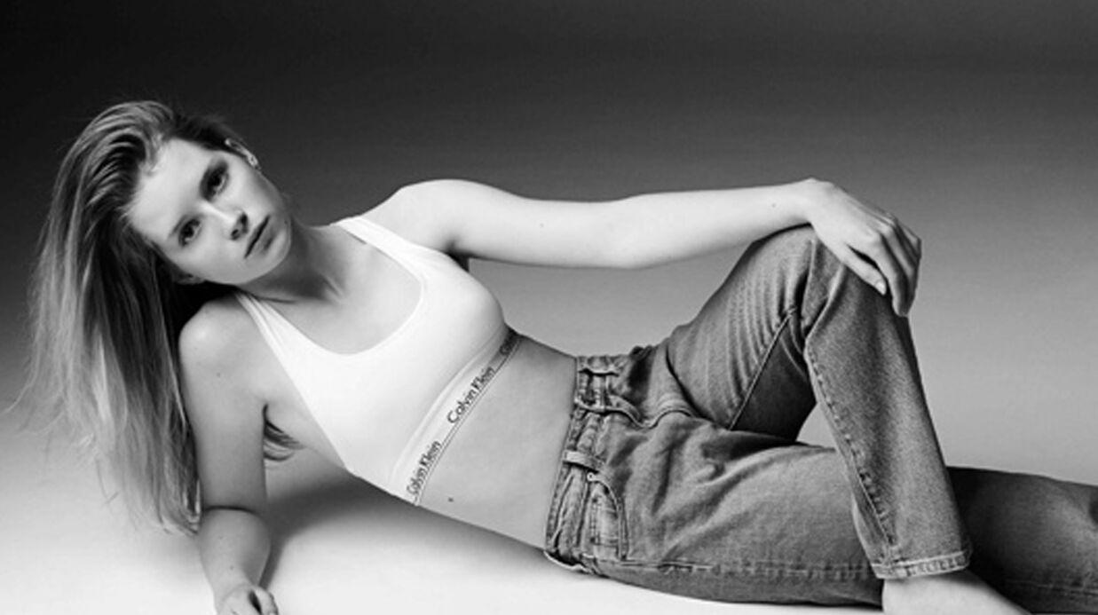 PHOTOS La petite sœur de Kate Moss pose pour Calvin Klein