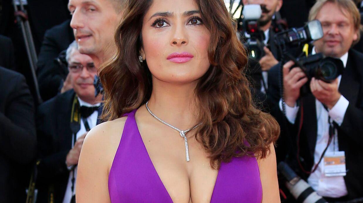 PHOTO Salma Hayek topless pour Allure Magazine