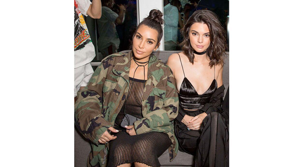 PHOTOS Kim Kardashian en string sous une robe filet de pêche, adieu l'élégance…