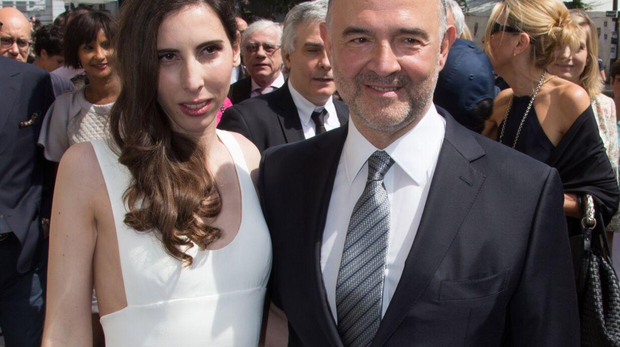 PHOTOS Pierre Moscovici s'est marié avec Anne-Michelle Basteri
