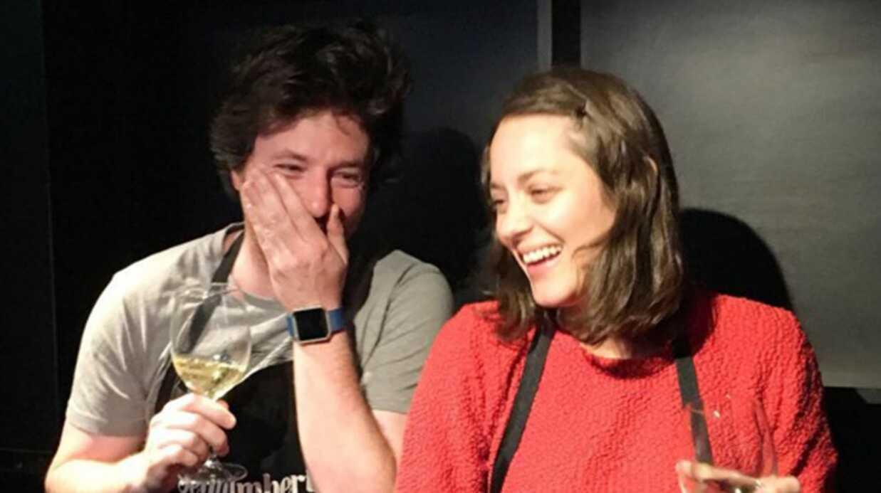 PHOTO Jean Imbert et Marion Cotillard régalent les invités d'une séance de cinéma