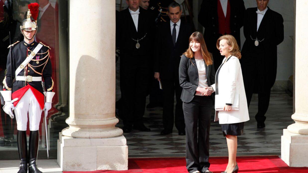 PHOTOS Valérie Trierweiler: ses premiers pas de première dame
