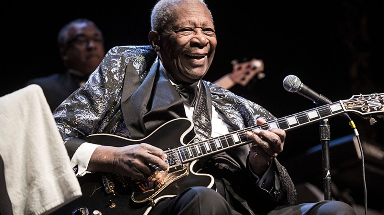 Mort de B.B. King, légende du blues