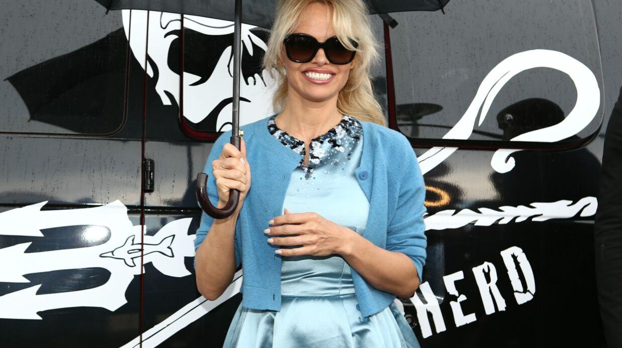 PHOTO Pamela Anderson sexy et engagée sur la Croisette