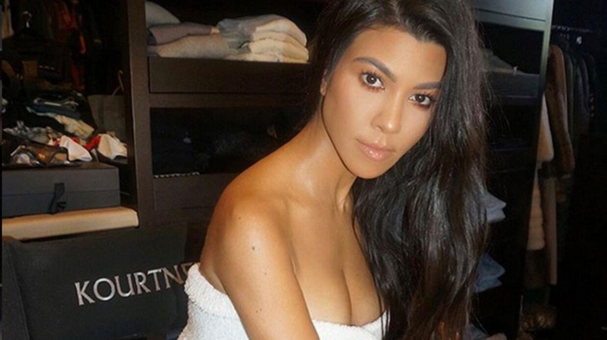 PHOTO Kourtney Kardashian ultra sexy pour un cliché toute nue
