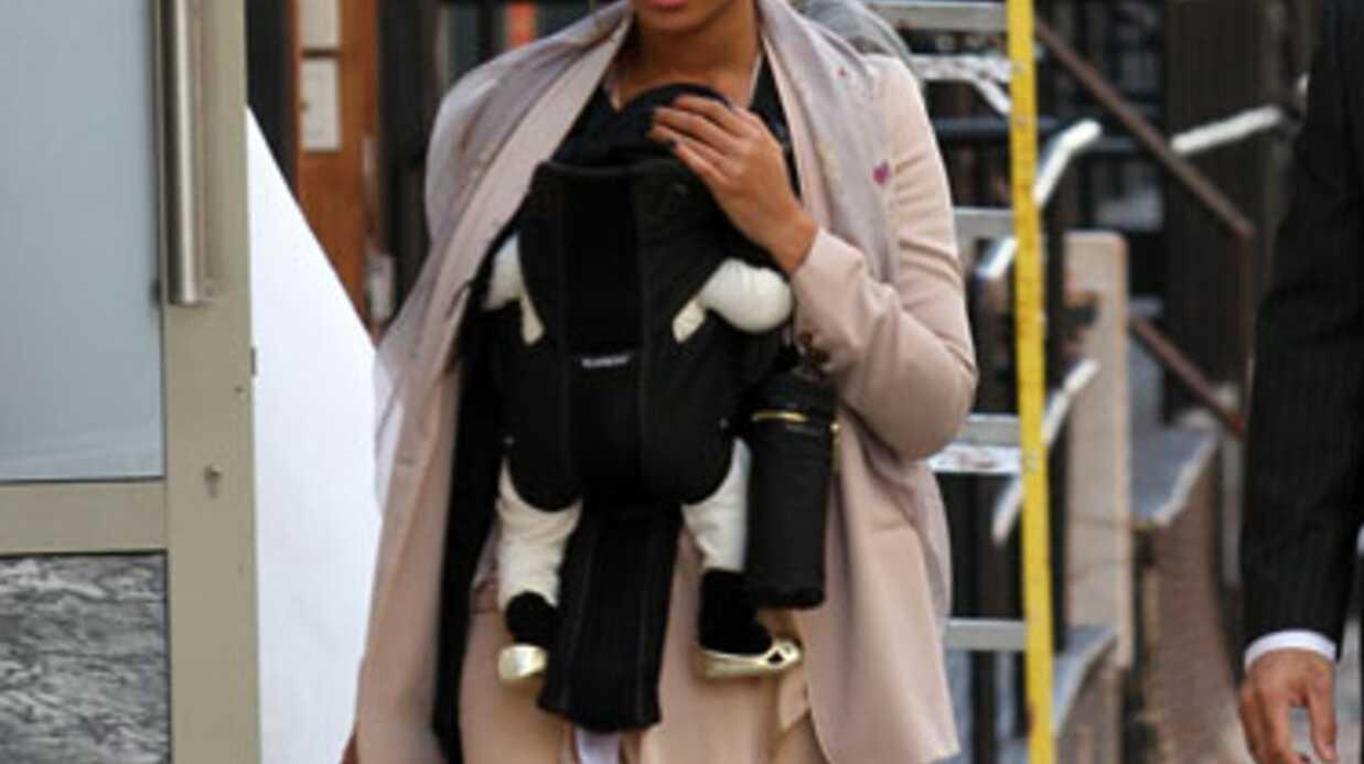 LOOK Beyoncé et Blue Ivy en balade à New York