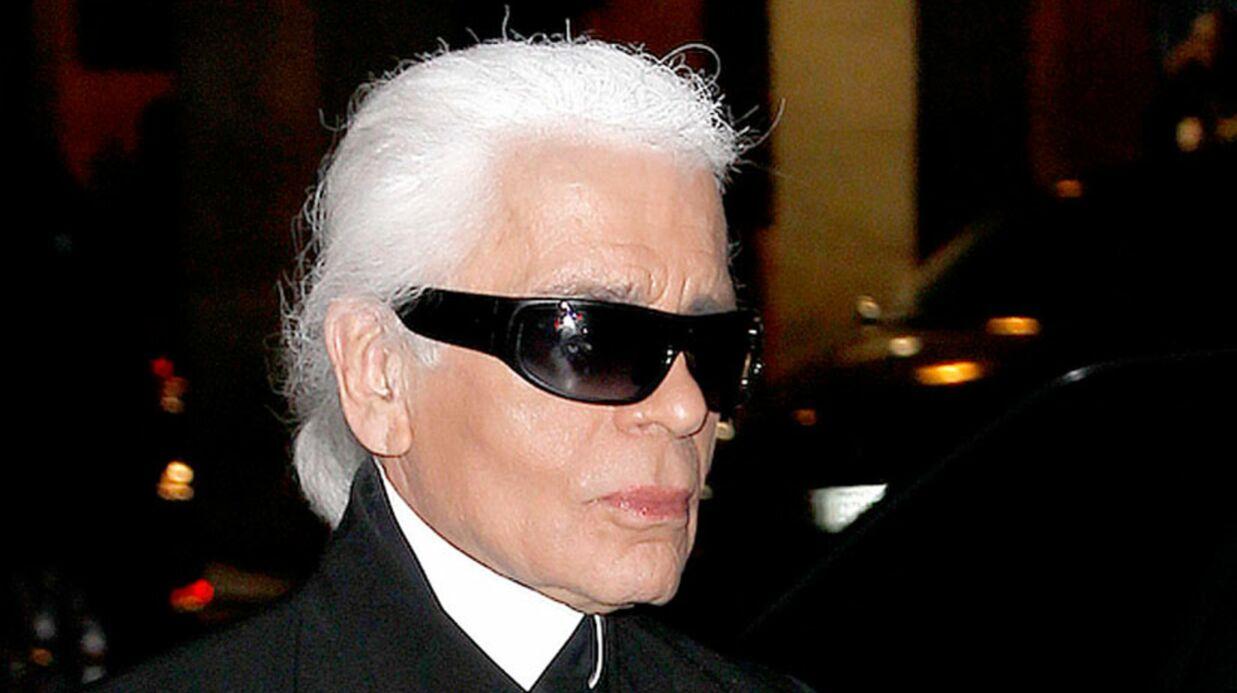 Karl Lagerfeld n'a jamais mis les pieds dans un supermarché