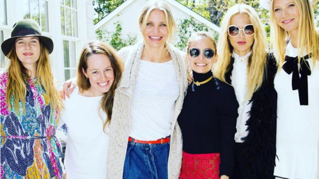Gwyneth Paltrow s'entoure de ses amies stars pour lancer ses crèmes de beauté