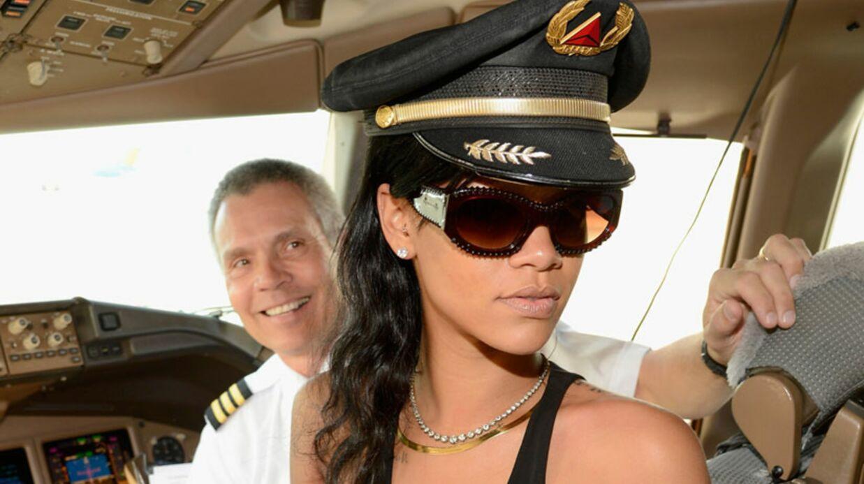 DIAPO Rihanna embarque ses fans en avion pour 7 jours de folie
